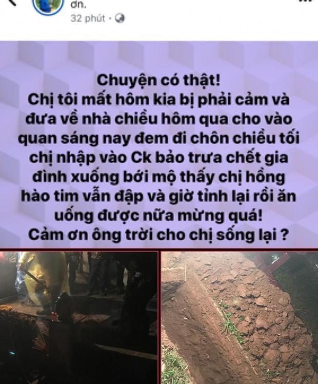 """Thực hư chuyện người chết đột nhiên sống dậy về ăn cơm"""" cùng gia đình ở Bắc Giang-1"""