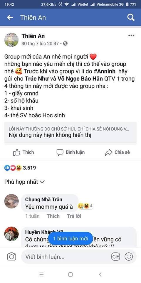 Nữ chính MV của Jack bị netizen mỉa mai 'mẹ thiên hạ' vì vừa nổi tiếng, liền yêu cầu fan cung cấp sổ hộ khẩu và giấy khai sinh để được... add vào group của FC-1