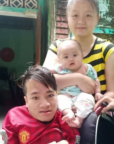 Chàng trai tí hon đầy nghị lực xây dựng gia đình nhỏ hạnh phúc to-2