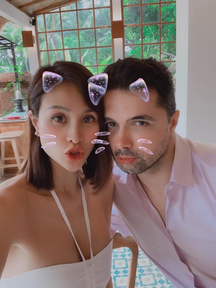 MC Phương Mai mang bầu 6 tháng vẫn mặc bikini khoe dáng đẹp hút mắt-10