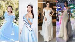 Nhã Phương liên tục đụng hàng các hoa hậu: Liệu Lương Thùy Linh, Trần Tiểu Vy, Phạm Hương và Thúy Vân có áp đảo được vợ danh hài?