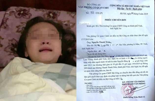 Vụ bé gái 6 tuổi tố nghi bị xâm hại tình dục: Có khởi tố vụ án hình sự?-1