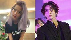 Fan BTS sợ hết hồn khi Nam Em đột nhiên mê mệt các oppa, bắt chước Jungkook cover 'Bad Guy' giật long tóc