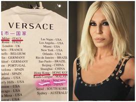 NTK Donatella Versace lên tiếng xin lỗi về chiếc áo phông gây tranh cãi