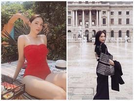 'Bạn gái' thiếu gia Phillip Nguyễn sang chảnh, xách túi hơn 2.600 USD