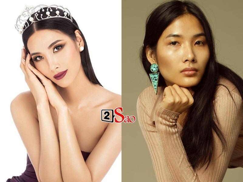Mặt mộc của Hoàng Thùy có đủ đẹp để đọ với dàn mỹ nữ thi Miss Universe 2019?-1