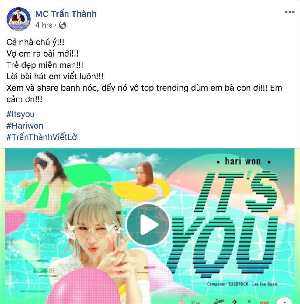 Chơi game show không thuộc nhạc vợ, Trấn Thành viết luôn lời cho Hari Won hát-4