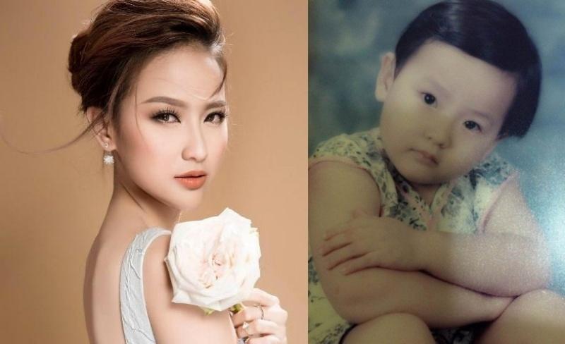 Vẻ đáng yêu thuở nhỏ của dàn Hoa hậu, Á hậu Việt Nam-10