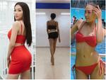 Em gái Hoàng Thùy được chị gái á hậu 'kèm cặp' để thi Hoa hậu Hoàn vũ Việt Nam 2019 dù chiều cao khiêm tốn