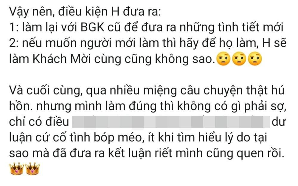Hồ Ngọc Hà lật lại scandal chèn ép Minh Hằng, ẩn ý đàn em bị kẻ xấu xúi giục nên giờ khó nói câu xin lỗi-4