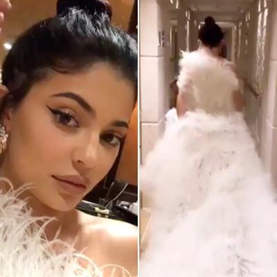 Kylie Jenner đón sinh nhật 22 tuổi với chiếc váy hơn 500 triệu đồng-1