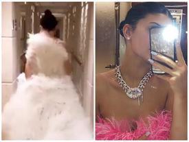 Kylie Jenner đón sinh nhật 22 tuổi với chiếc váy hơn 500 triệu đồng