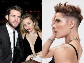 Anti-fan mỉa mai Miley Cyrus ngoại tình sau lưng Liam Hemsworth, Halsey bất ngờ lên tiếng bênh vực khiến 'chủ thớt' méo mặt