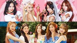 Bốn nhóm nhạc được mệnh danh là 'nữ hoàng mùa hè' của Kpop