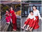 Giữa lúc điều trị ung thư phổi, diễn viên Mai Phương diện đồ đôi du lịch cùng cô con gái nhỏ Lavie