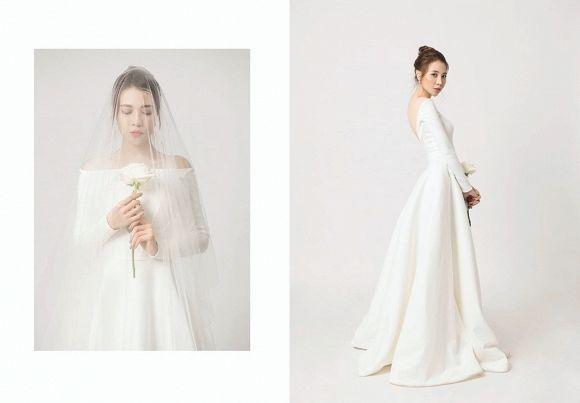 Chỉ mới lộ vài tấm ảnh chụp vội, dân tình đã phát sốt dự đoán váy cưới Đông Nhi-3