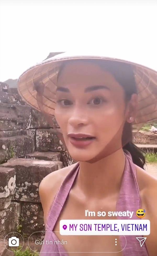 Hoa hậu Hoàn vũ bất ngờ diện áo dài nền nã, khoe nhan sắc xinh đẹp giữa phố cổ Hội An-10