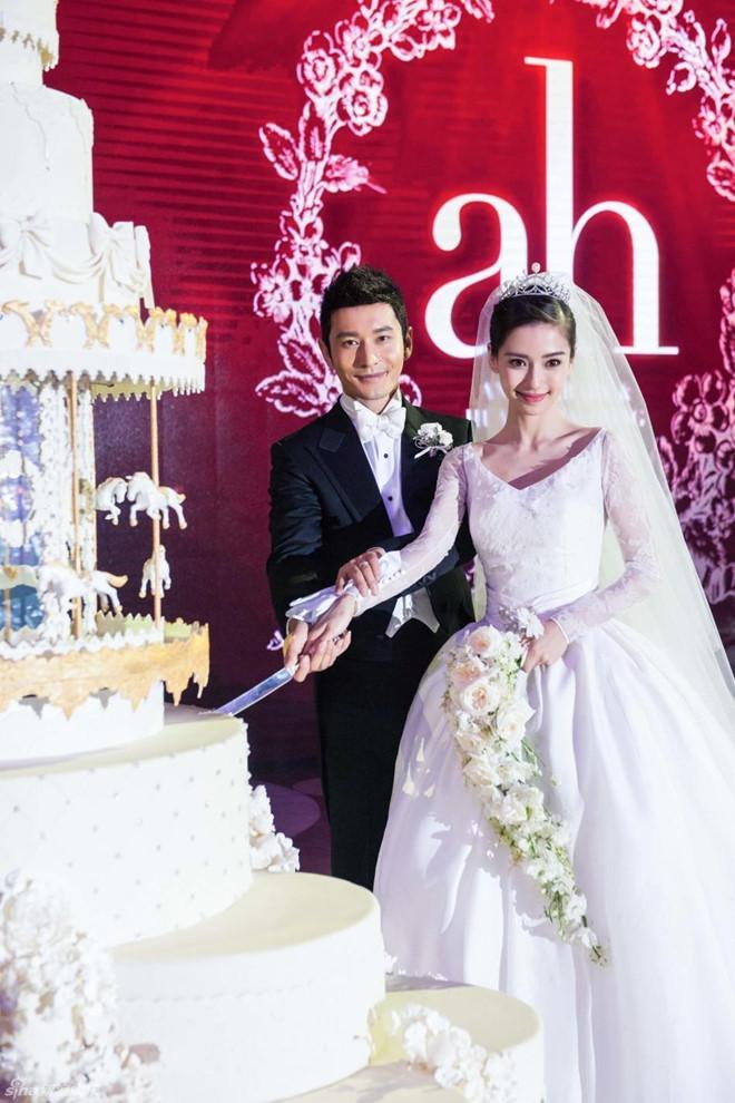 Angelababy và Huỳnh Hiểu Minh - lễ cưới chiêu trò đến ồn ào ly hôn-6