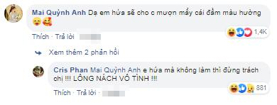 VZN News: Chưa đầy nửa năm kết hôn, Mai Quỳnh Anh bị Cris Phan công khai đòi quần trên mạng xã hội-4