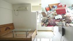 Cho gái xinh thuê trọ hơn 1 năm, chủ nhà hết hồn khi nhận phòng về là bãi rác siêu to khổng lồ