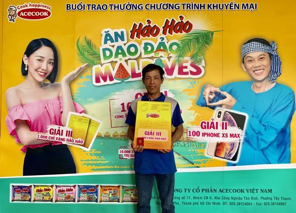 Lộ diện khách hàng trúng cặp vé du lịch Maldives cùng Hoài Linh, Tóc Tiên-2