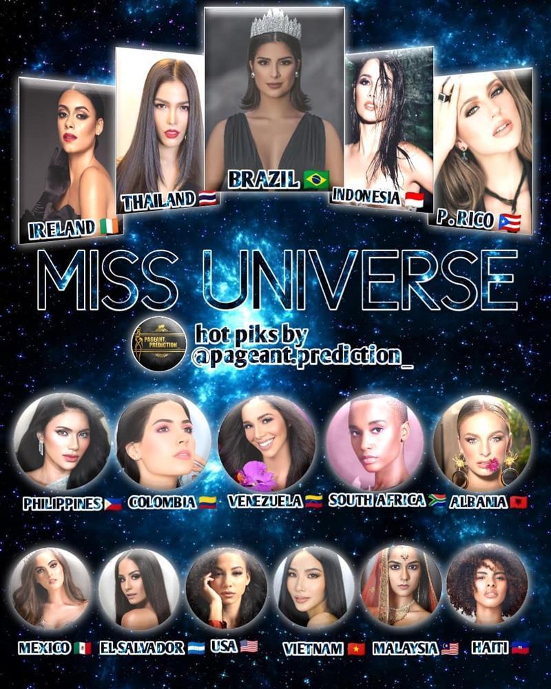 Bản tin Hoa hậu Hoàn vũ 14/8: Hoàng Thùy oanh tạc cùng lúc 3 bảng xếp hạng sắc đẹp quốc tế-1