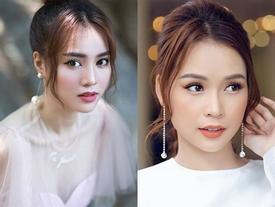Trang điểm 'sương sương', Lan Ngọc hết bị nhầm là hot girl Sam đến diễn viên Phương Oanh