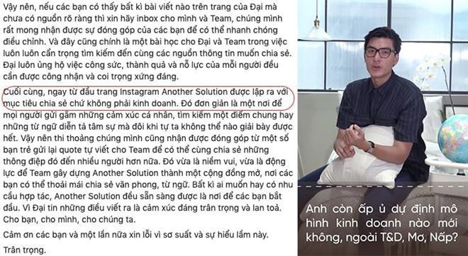 Sau lùm xùm ăn cắp chất xám, Quang Đại lại bị tố nói dối-1