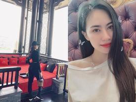 'Bạn gái tin đồn' Quang Hải check-in cùng nơi nam tiền vệ đang thi đấu