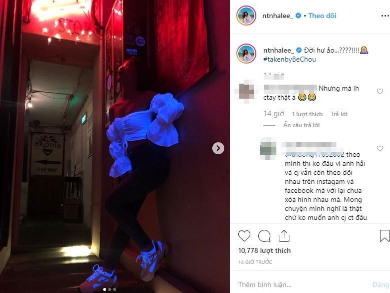 Giữa nghi án Quang Hải có bạn gái mới, Nhật Lê diện áo hở trên ngắn dưới trách đời hư ảo-3