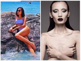 Xóa sổ biệt danh 'bộ xương di động', Lê Thúy tung ảnh bikini khoe body nóng bỏng không thua kém mẫu Victoria's Secret