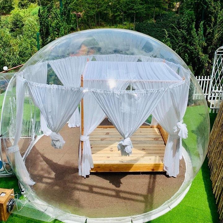 Xuất hiện nhà bong bóng đẹp như mơ ở Đà Lạt, giới trẻ tha hồ check in-1