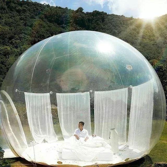 Xuất hiện nhà bong bóng đẹp như mơ ở Đà Lạt, giới trẻ tha hồ check in-2