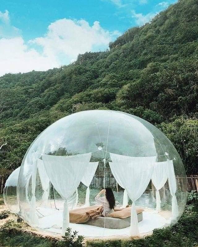 Xuất hiện nhà bong bóng đẹp như mơ ở Đà Lạt, giới trẻ tha hồ check in-3
