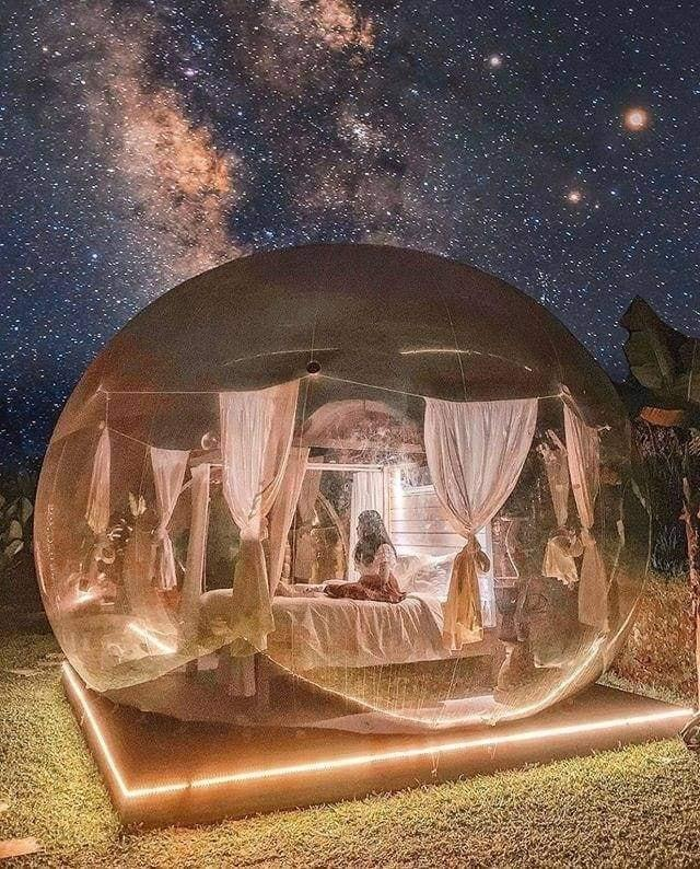 Xuất hiện nhà bong bóng đẹp như mơ ở Đà Lạt, giới trẻ tha hồ check in-5