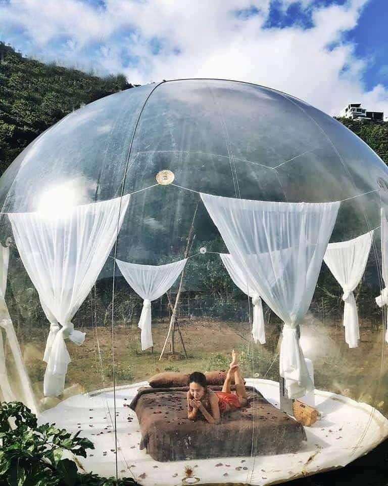 Xuất hiện nhà bong bóng đẹp như mơ ở Đà Lạt, giới trẻ tha hồ check in-6