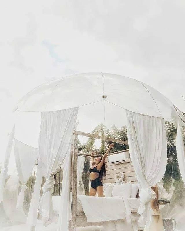 Xuất hiện nhà bong bóng đẹp như mơ ở Đà Lạt, giới trẻ tha hồ check in-7