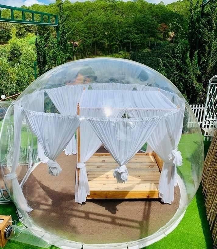 Xuất hiện nhà bong bóng đẹp như mơ ở Đà Lạt, giới trẻ tha hồ check in-8