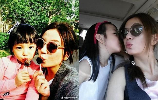 Triệu Vy xuất hiện công khai cùng con gái, gương mặt lộ rõ dấu hiệu tuổi tác-8