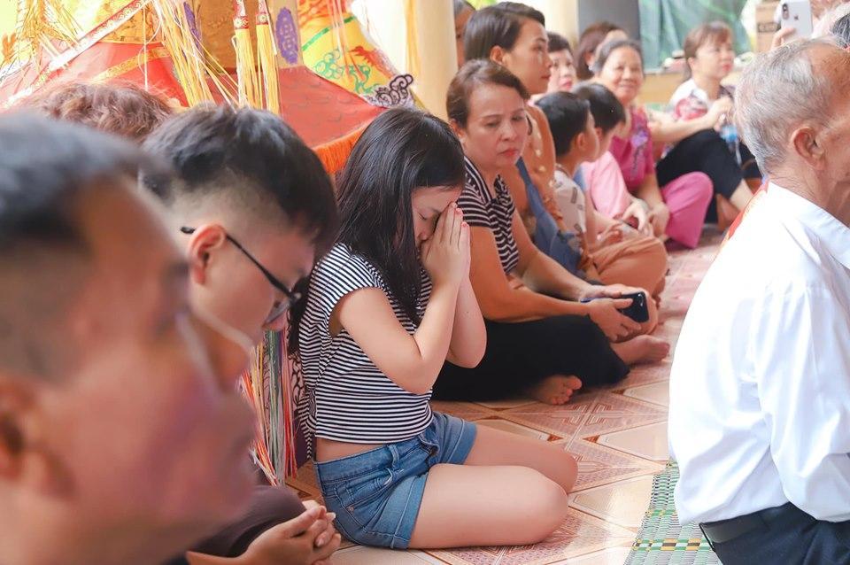 Khép lại tranh cãi sau ly hôn, vợ cũ Thành Trung vui vẻ khi con gái về thăm quê nội cùng bố-5