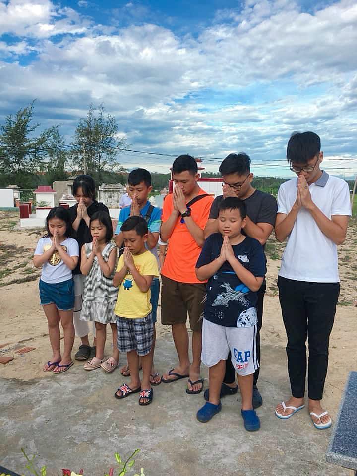 Khép lại tranh cãi sau ly hôn, vợ cũ Thành Trung vui vẻ khi con gái về thăm quê nội cùng bố-6