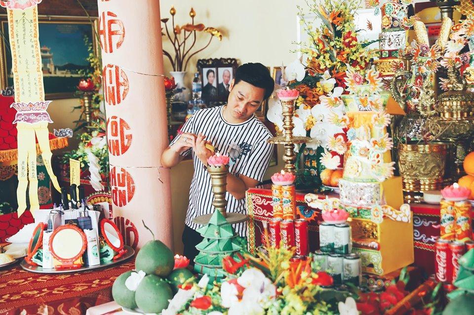 Khép lại tranh cãi sau ly hôn, vợ cũ Thành Trung vui vẻ khi con gái về thăm quê nội cùng bố-4