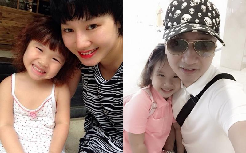 Khép lại tranh cãi sau ly hôn, vợ cũ Thành Trung vui vẻ khi con gái về thăm quê nội cùng bố-1