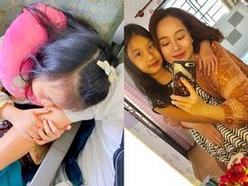 Khép lại tranh cãi sau ly hôn, vợ cũ Thành Trung vui vẻ khi con gái về thăm quê nội cùng bố
