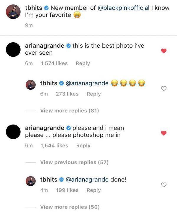 Màn kết hợp Ariana Grande và BlackPink cận kề hay chỉ là những đoạn tám chuyện cho vui, không hồi kết?-2