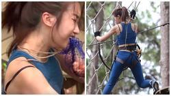 Sóng gió bủa vây, Đỗ Mỹ Linh lại bị 'super-soi' mặc sai nội y ở 'Cuộc đua kỳ thú'