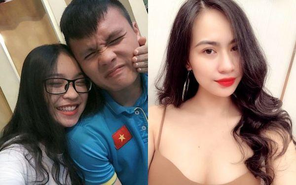 Hot girl bị đồn là bạn gái Quang Hải có gì hơn Nhật Lê?-1
