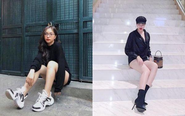 Hot girl bị đồn là bạn gái Quang Hải có gì hơn Nhật Lê?-4