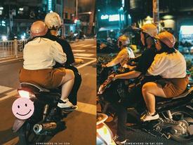 Hành động ngọt ngào của cặp đôi trên đường phố Sài Gòn khiến dân mạng phấn khích, thay đổi suy nghĩ 'quá béo không tìm được người yêu'