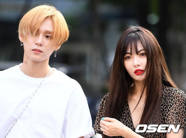 HyunA và người yêu chăm diện đồ đôi, có gu thời trang độc lạ-4